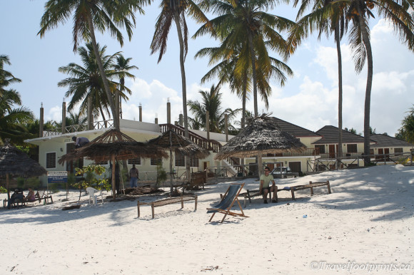 our paje beach resort accommodation