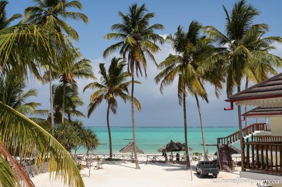 beautiful views from paje beach resort accommodation