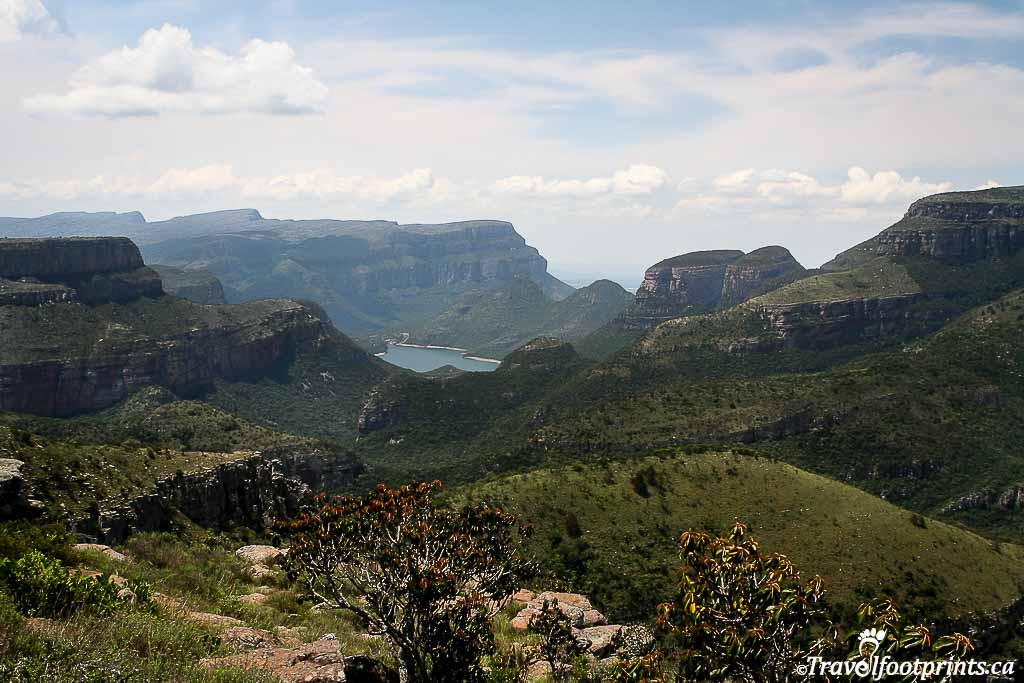 three rondevals in blyde river canyon