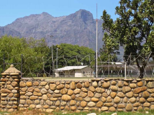 Victor-Verson-prison-paarl-south-africa-nelson-mandela-rock-wall-barbed-wire