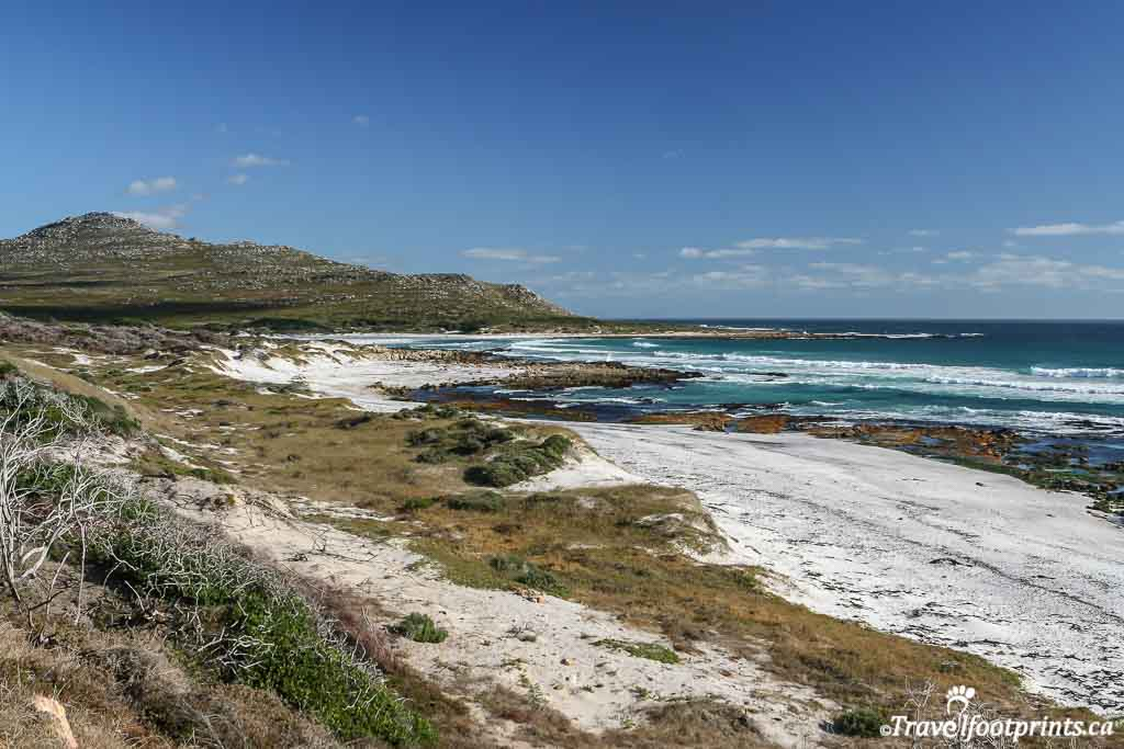 beach at cape of good hope