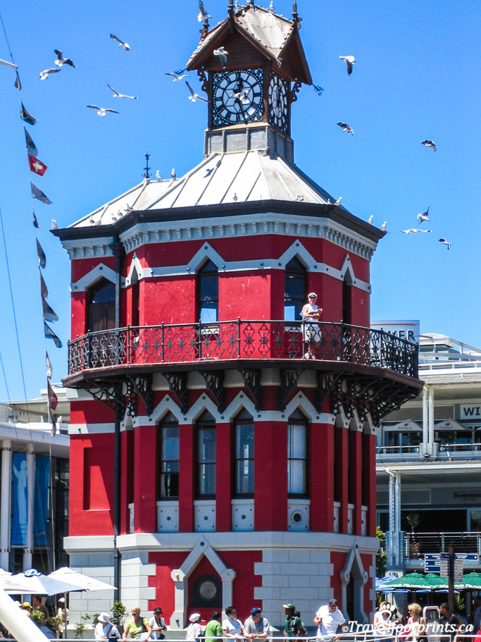 clock tower at victoria and alfred waterfront