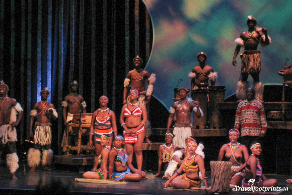 dancers in umoja musical cape town