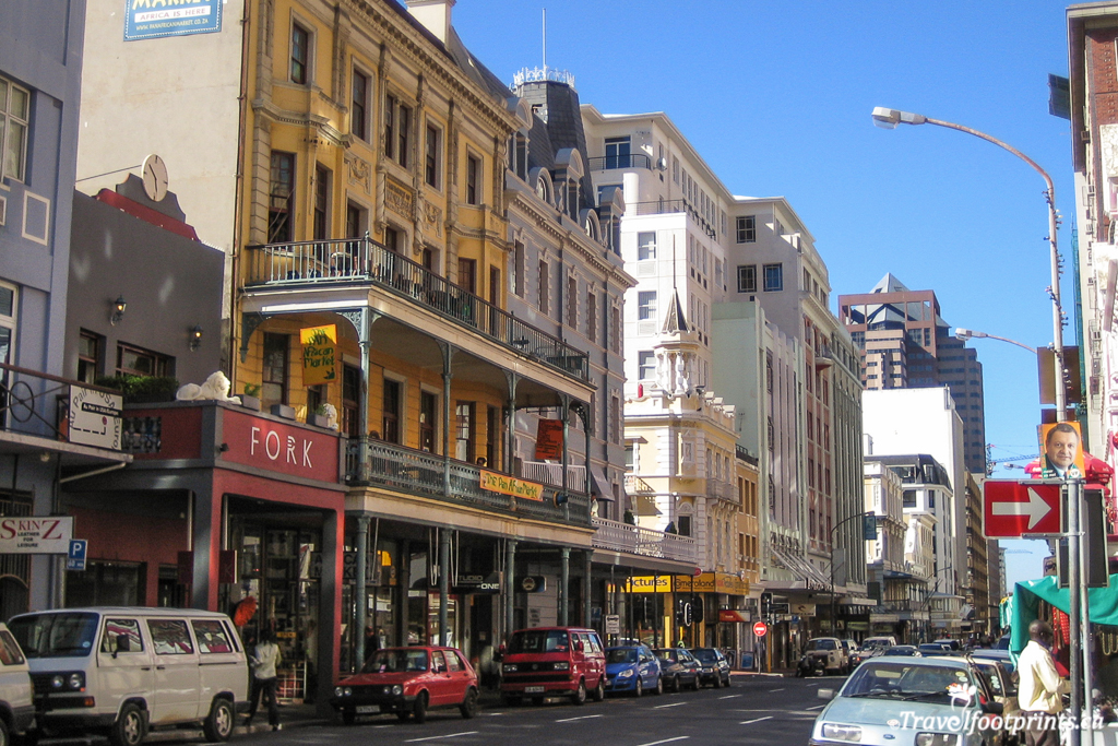 long street and kloof street shops and restaurants