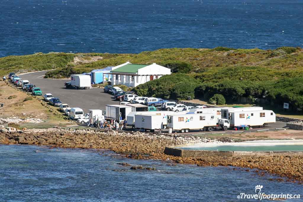 movie set for blood diamond at cape of good hope