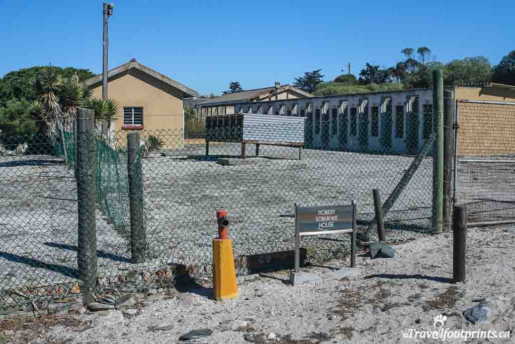 prison grounds at robben island
