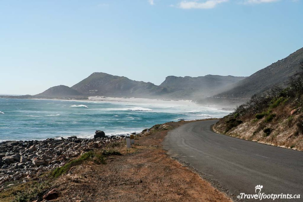 scenic road to cape of good hope south africa