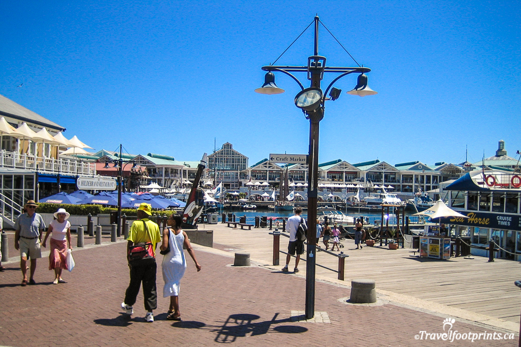 shops and restaurants at victoria and alfred waterfront