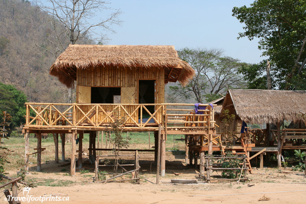 sleeping accommodations at the elephant nature park