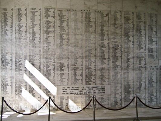 pearl-harbor-USS-arizona-memorial-name-plaque-oahu