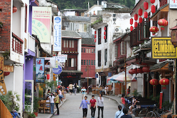 Yangshou Town, Becoming More Western Than Chinese