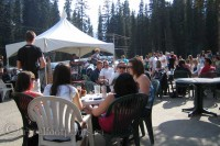 living-lake-louise-staff-summer-barbeque-fairmont-chateau-hotel