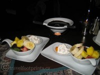 Banff-Springs-Hotel-Dessert-Plate-chocolate-fruit