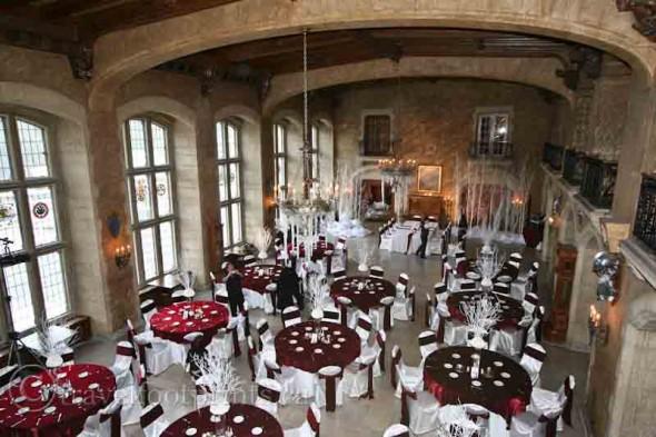 Banff-springs-hotel-wedding-receptions-table-linens-dinnerware