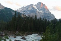 Takakkaw Falls And Spiral Tunnels