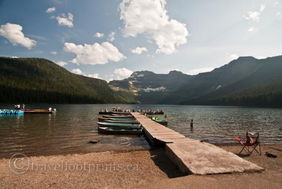 Cameron-lake-waterton-national-park-boat-ramp-mountains