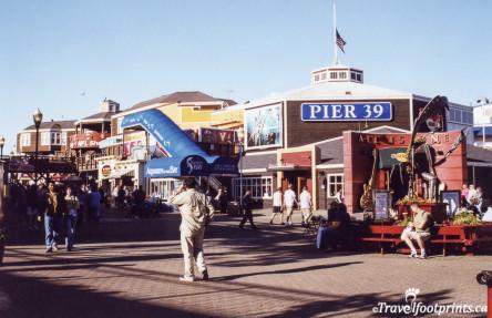 Activity on Pier 39 Sanfrancisco