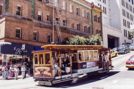 Cable car in Sanfrancisco