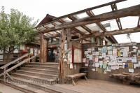 hornby-island-coop-bulletin-board-stairs-wood