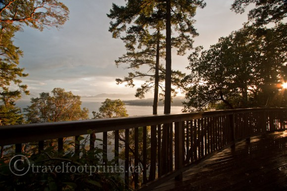 hornby-island-house-high-salal-balcony-sunset-ocean-view