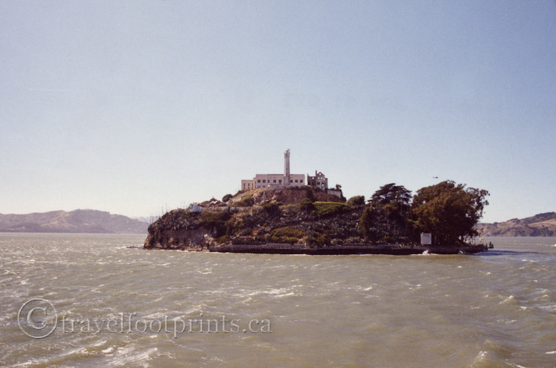 the history and uses of the famous alcatraz in the middle of san francisco bay The islands of alcatraz and angel island, inside the bay,  an important harbor for goods from the middle east, east  san francisco bay is a strategic.