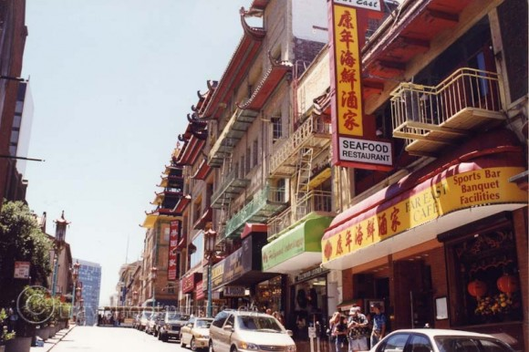 san-francisco-china-town-shops-seafood-restaurant-street