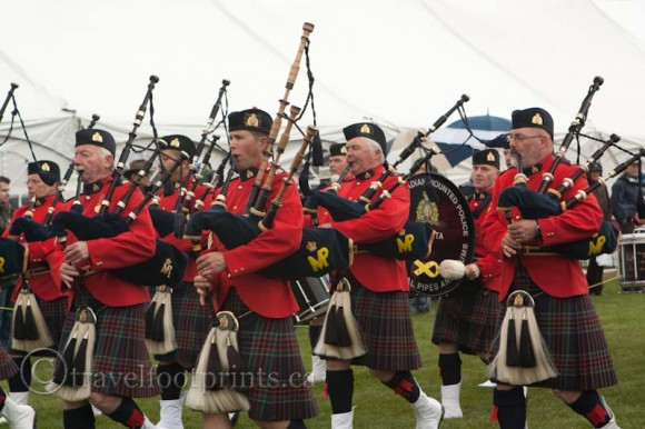 Canmore-highland-games-bag pipes-band-kilts