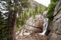 lake-agnes-tea-house-trail-waterfall