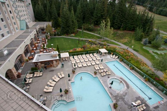 fairmont-chateau-whistler-hotel-view-above-pool