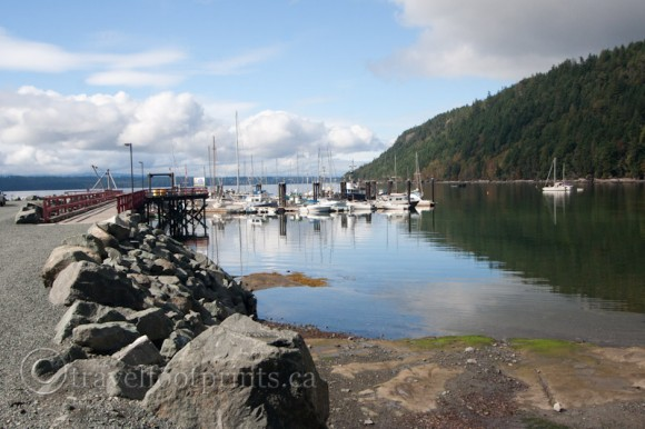 hornby-island-fords-cove-marina-boats-harbour-ocean-reflection