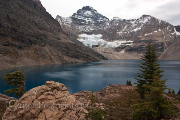 lake-ohara-hiking-trail-lake-mcarthur-close-view