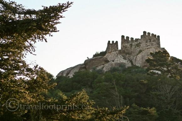 castle-of-the-moors-trees-hillside-bricks-sintra-portugal