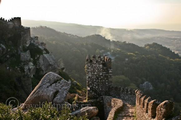castle-of-the-moors-stone-work-hillside-walkway-turret-sintra-portugal
