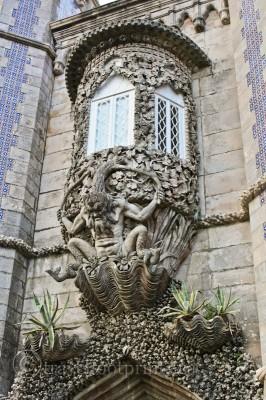 pena-palace-gargoyle-castle-ornate-detail-sintra-portugal