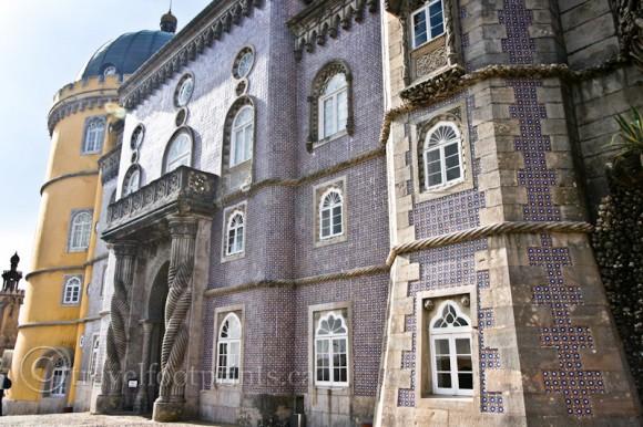 ornate-castle-pena-palace-sintra-portugal-towers-windows-columns