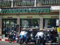 Starbucks And Tuk Tuks