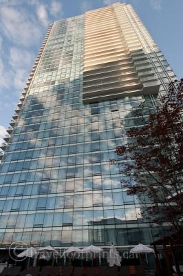 fairmont pacific rim hotel glass exterior