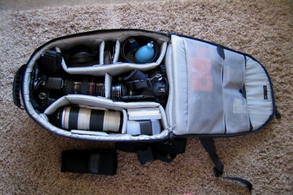 inteterior-view-lowpro-camera-backpack-equipment-gear-travel