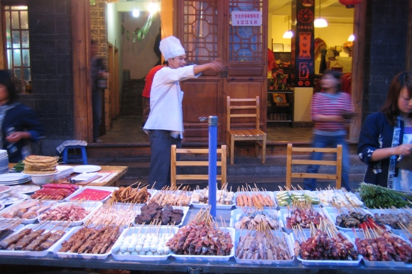 raw-meat-on-sticks-shish-kabob-street-vendor-china