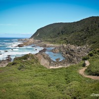 start of otter trail in tsitsikamma national park