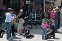 musicians at garden festival baker street nelson british columbia