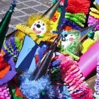 clown decorations for festival in san miguel de allende
