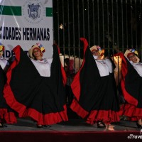 ladies dancing at Sister Cities International Festival in San Miguel de Allende