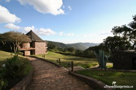 Ngorongoro Sopa Lodge, Perched On The Rim Of A Volcanic Crater
