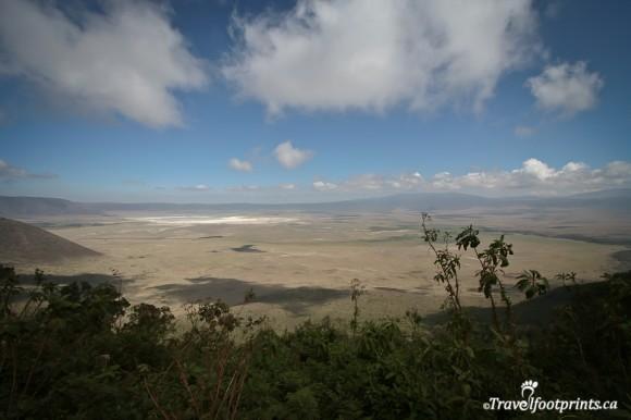 view-ngorongoro-crater-sunny-day-greenery-trees-africa-tanzania