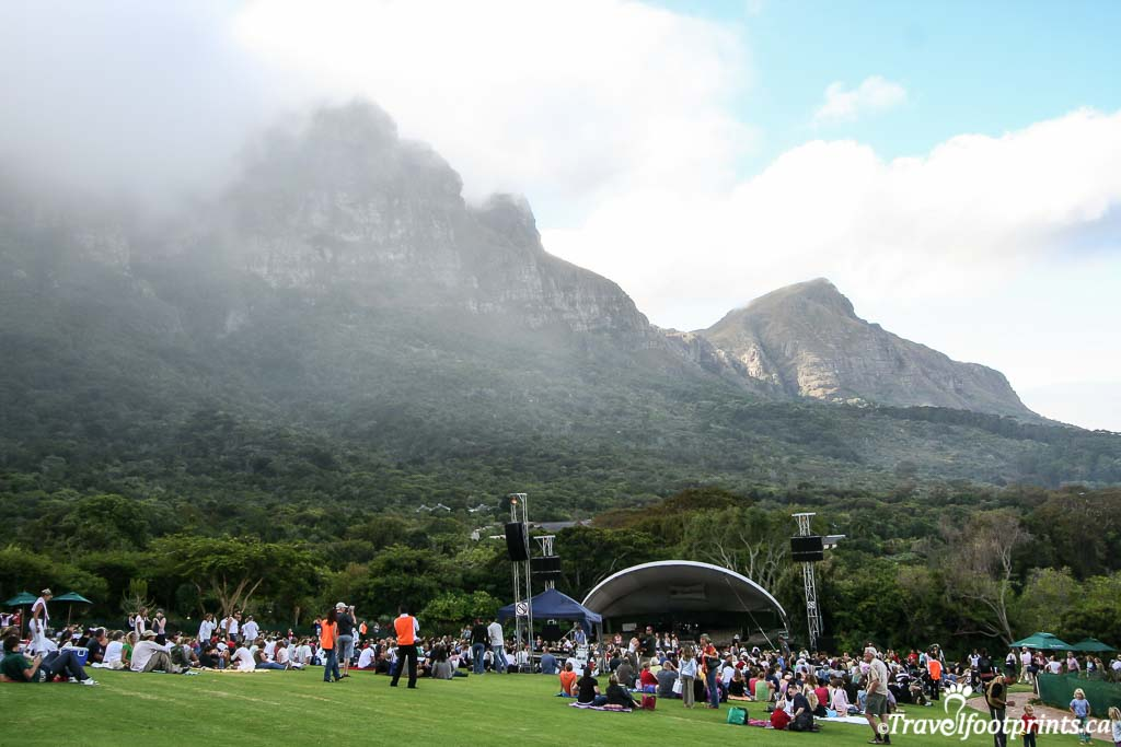 Summer Concerts at Kirstenbosch Gardens south africa